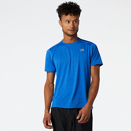 New Balance Impact Run Short Sleeve, MT01234FCT image number null