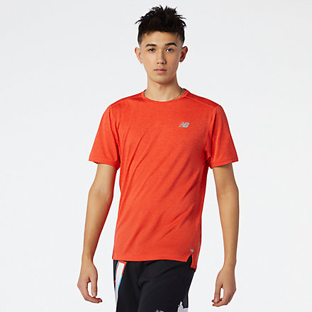 NB Impact Run Short Sleeve, MT01234GP1 image number null