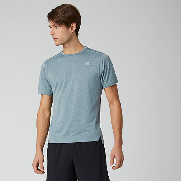NB Impact Run Short sleeve top, MT01234LST