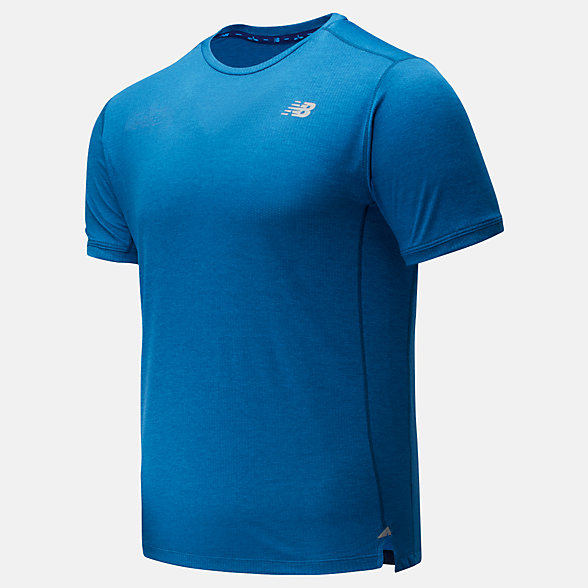 New Balance Impact Run Short Sleeve, MT01234MB2