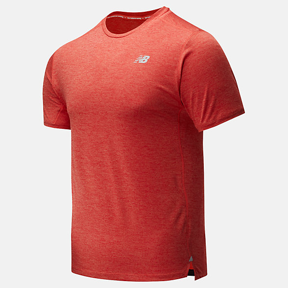 New Balance Impact Run Short Sleeve, MT01234TOH