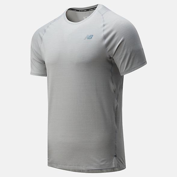 New Balance 男款速干运动短袖T恤, MT01251AG