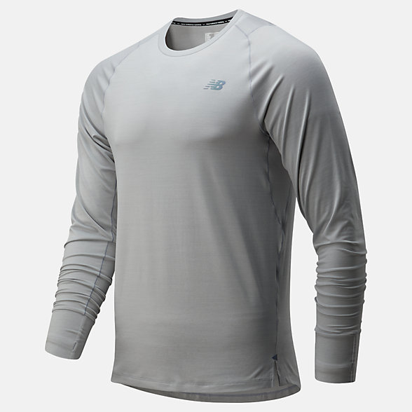New Balance Q Speed Seasonless Long Sleeve, MT01252AG