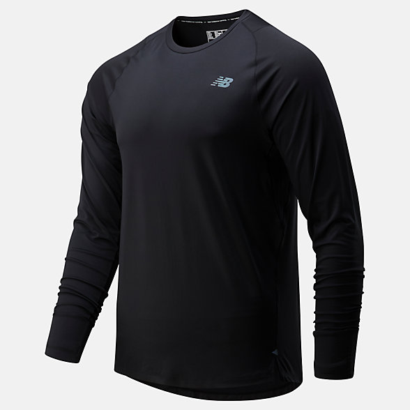 NB Q Speed Seasonless Long Sleeve, MT01252BK