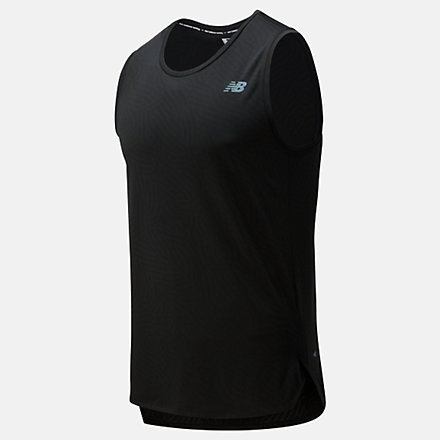 New Balance Camisole en jacquard Q Speed, MT01257BK image number null