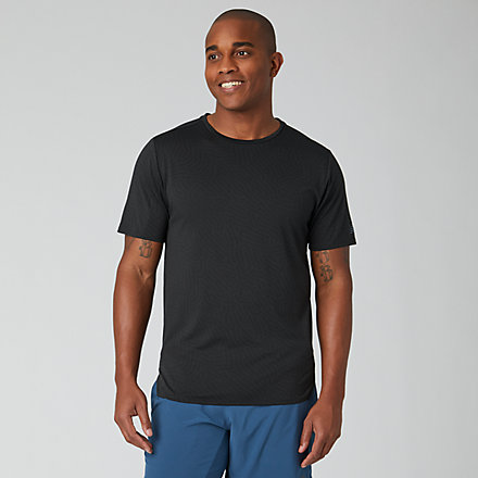 New Balance Q Speed Jacquard Short Sleeve, MT01259BK image number null
