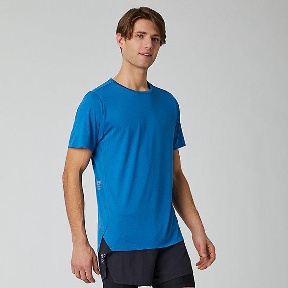 New Balance Q Speed Jacquard Short Sleeve, MT01259MB2