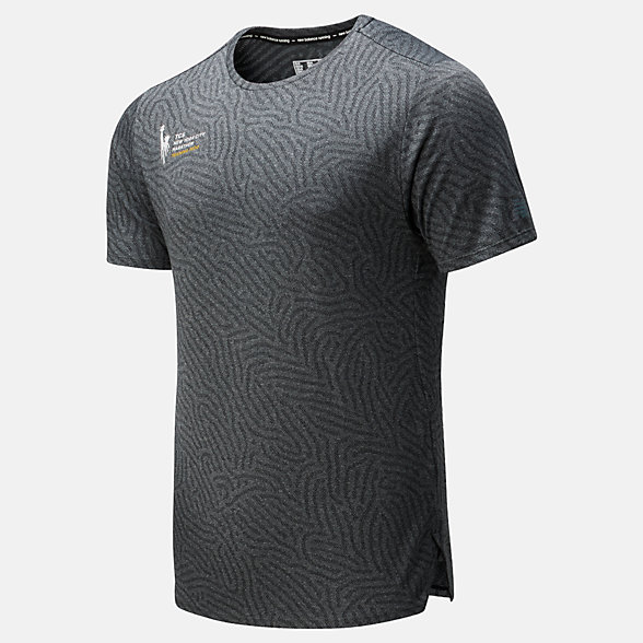 New Balance NYC Marathon Q Speed Jacquard Short Sleeve, MT01259MHC