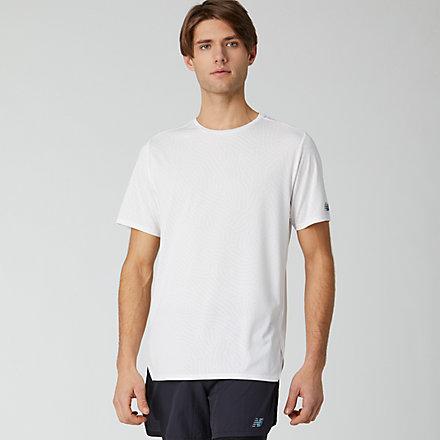 New Balance Q Speed Jacquard Short Sleeve, MT01259WT image number null