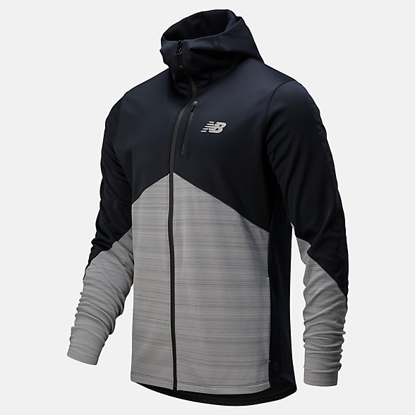 NB NBST Full Zip Vector Speed Top, MT013005BK