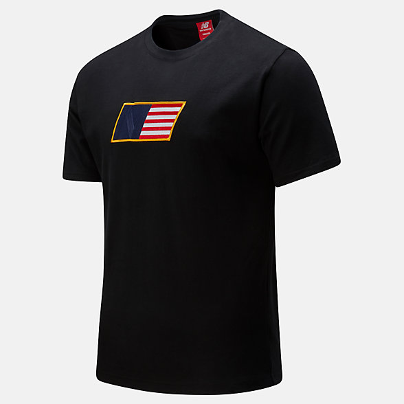 New Balance NB Athletics Select Tee, MT01502BK
