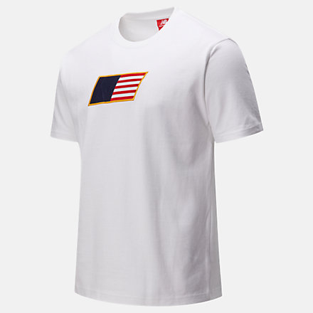 NB NB Athletics Select Tee, MT01502WT image number null