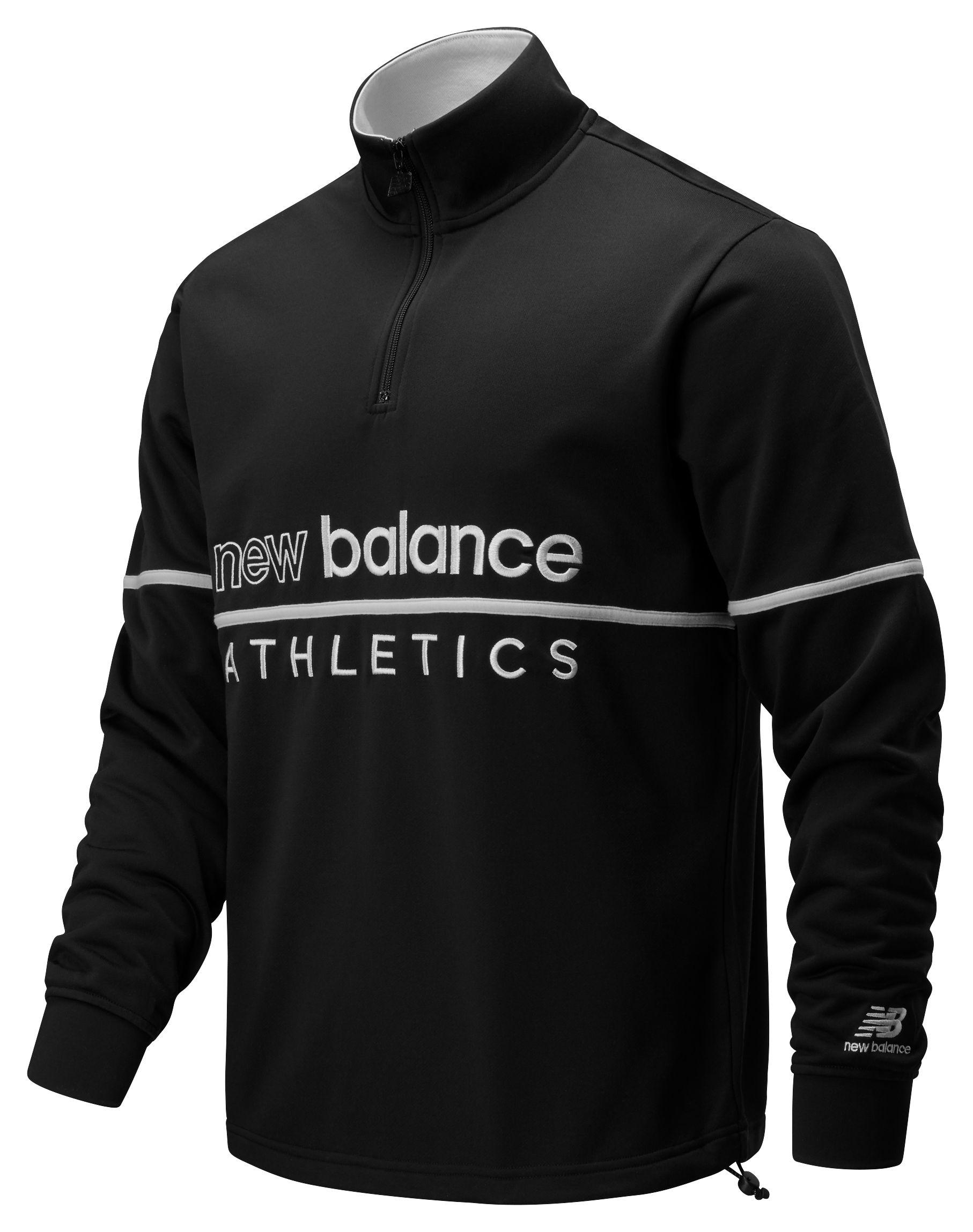 New Balance NB Athletics Track 1/4 Zip Men's Top   eBay