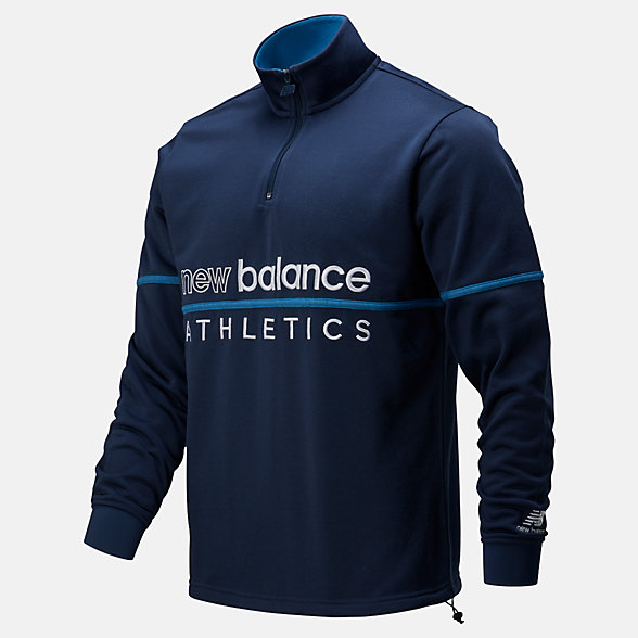 New Balance NB Athletics Track 1/4 Zip, MT01506NGO