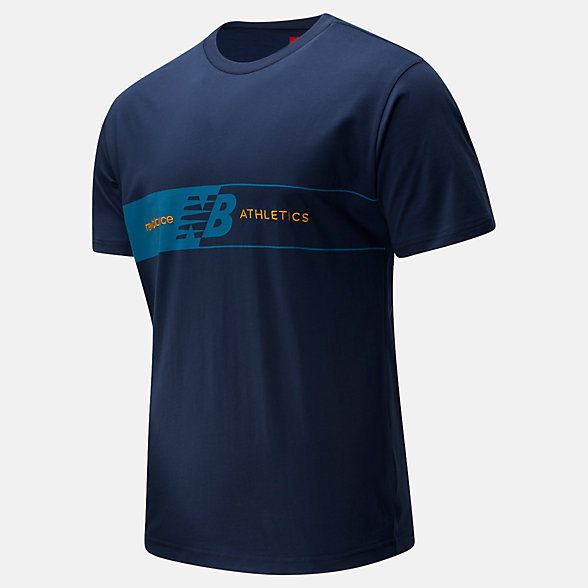 NB T-Shirt NB Athletics Keyline, MT01510NGO