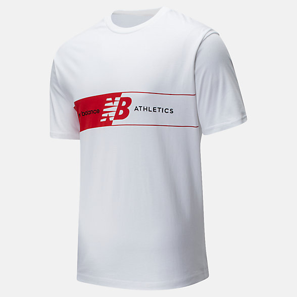 New Balance NB Athletics Keyline Tee, MT01510WT