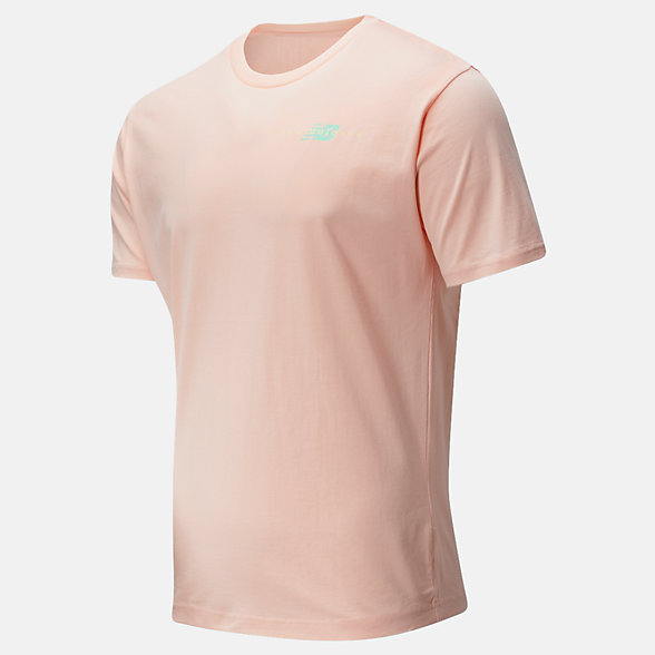 New Balance NB Athletics Runner Tee, MT01515PSA