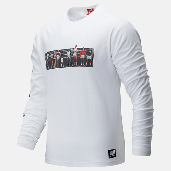 New Balance NB Athletics Archive Run Long Sleeve Tee, MT01519WT
