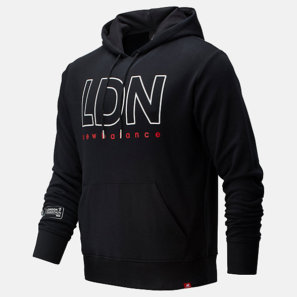 NB Sudadera Con Capucha London Edition Essentials Icon, MT01524DBK