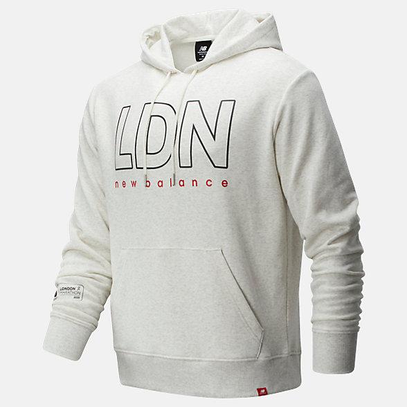 NB London Edition Essentials Icon Hoodie, MT01524DSAH