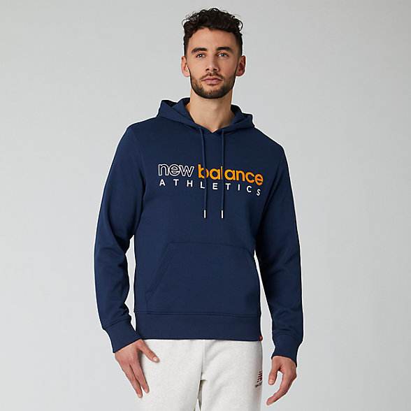 New Balance Essentials Icon Hoodie, MT01524NGO