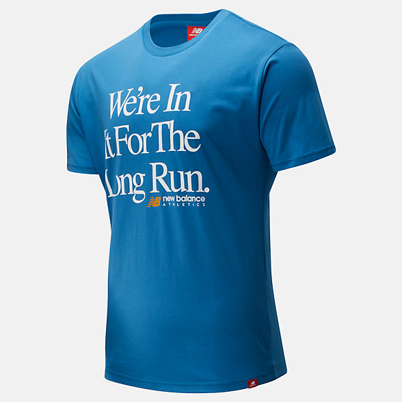 New Balance Essentials Icon Long Run Tee, MT01526MAK