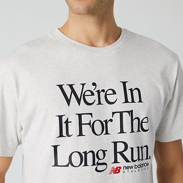 tee shirt running homme new balance
