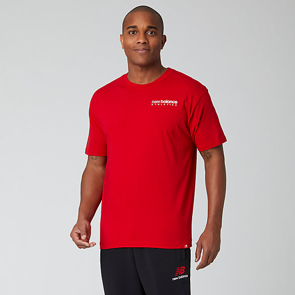 New Balance Essentials Icon Kenmore Tee, MT01529REP