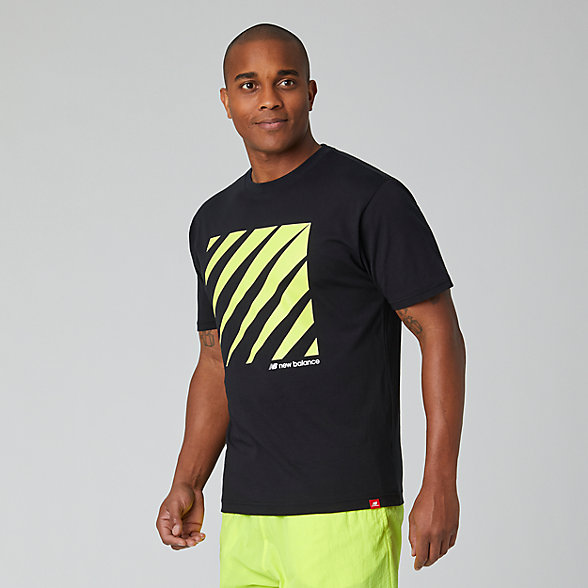 New Balance Sport Style Optiks Tee, MT01539BK
