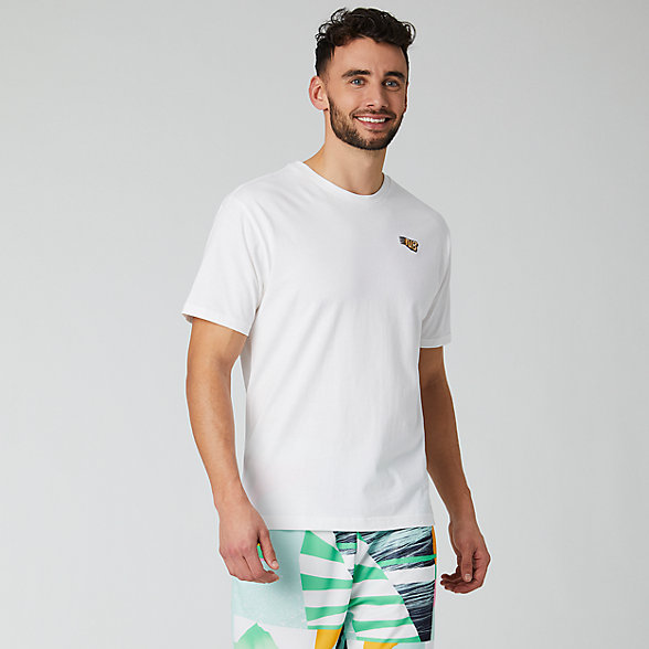 New Balance NB Athletics Tropic NB Tee, MT01548WT