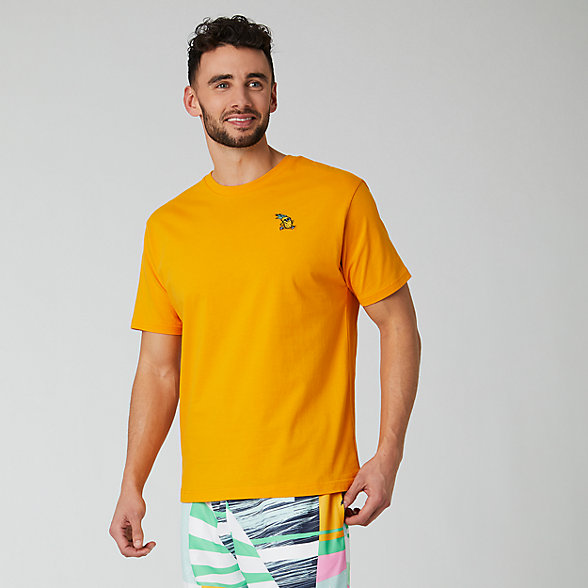 NB T-Shirt NB Athletics Tropic Pineapple, MT01549CWY