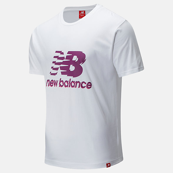 New Balance Essentials Lofi Stack Tee, MT01553WT
