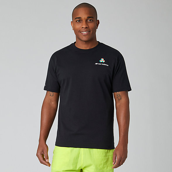 NB Sport Style Reeder Portrait T-Shirt, MT01560BK