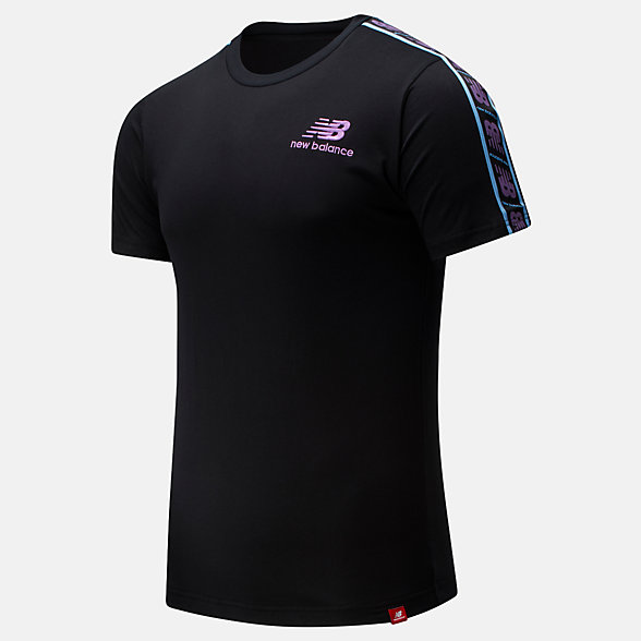 NB NB Athletics Tokyo Nights Track T-Shirt, MT01563BK