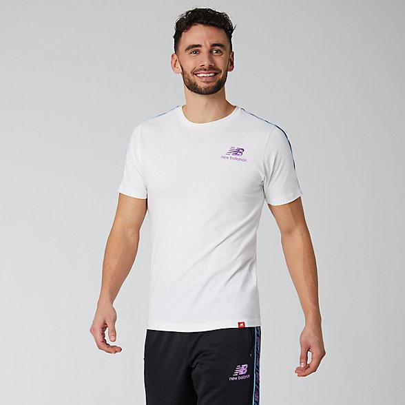 NB NB Athletics Tokyo Nights Track T-Shirt, MT01563WT
