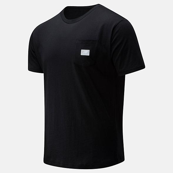 New Balance T-shirt NB Athletics Pocket, MT01567BK