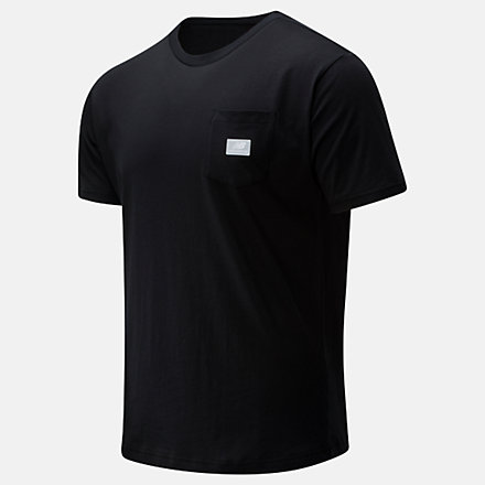 New Balance T-shirt NB Athletics Pocket, MT01567BK image number null