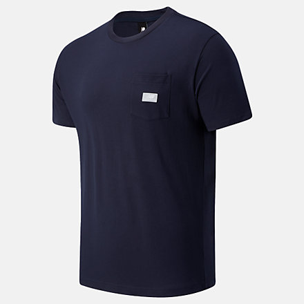 New Balance NB Athletics Pocket Tee, MT01567ECL image number null