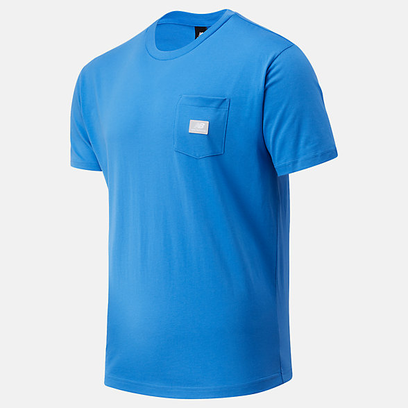 NB NB Athletics Pocket Tee, MT01567FCB