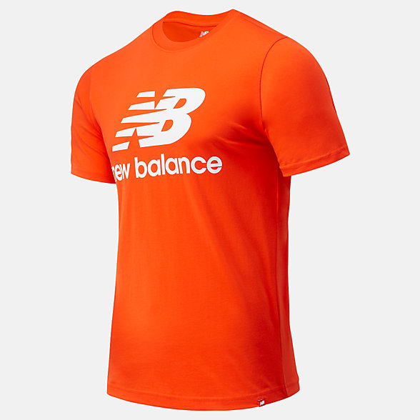 New Balance Essentials Stacked Logo Tee, MT01575BZ