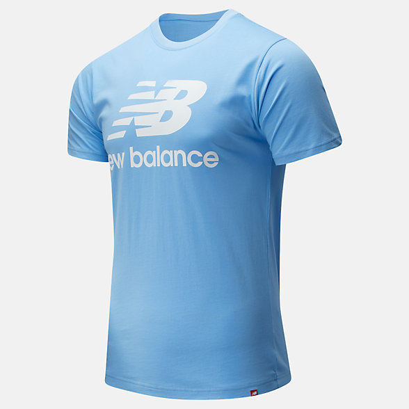 New Balance Essentials Stacked Logo Tee, MT01575CAR