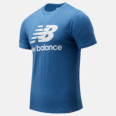 New Balance Essentials Stacked Logo Tee, MT01575OBR image number null