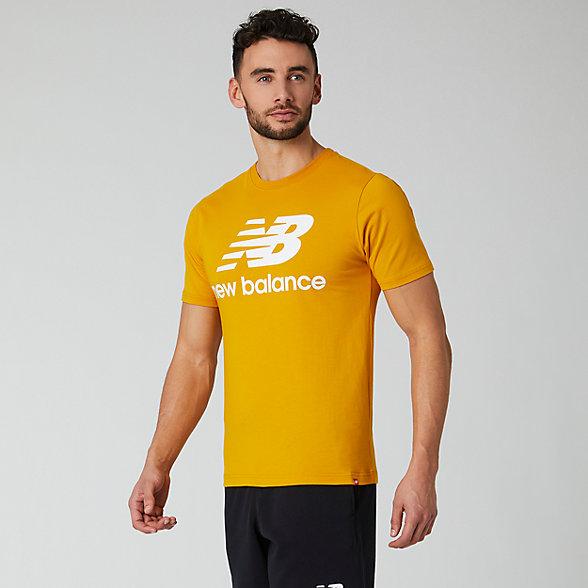 New Balance Essentials Stacked Logo Tee, MT01575VGL
