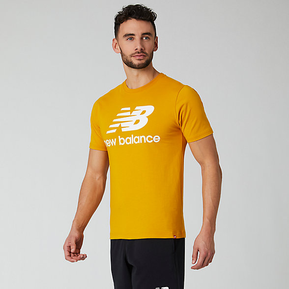 New Balance Essentials Stacked Logo Tee, MT01575VGL