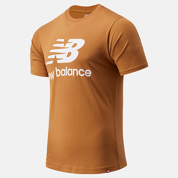 New Balance Essentials Stacked Logo Tee, MT01575WWK