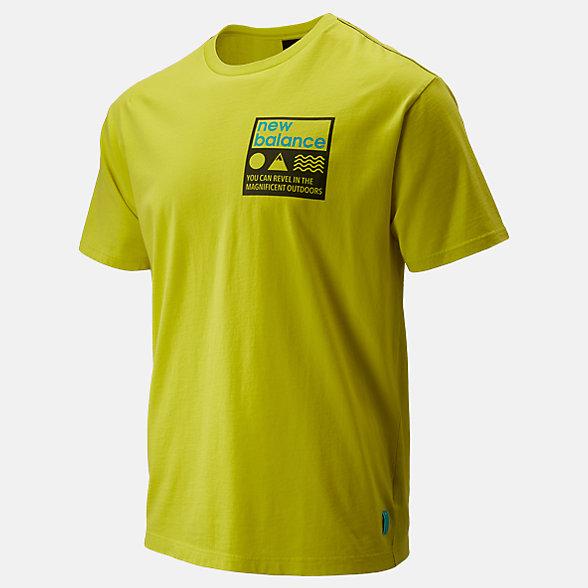 New Balance NB Athletics Trail Stamp Tee, MT01585SYE