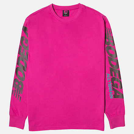 NB NBxBodega Xracer Long Sleeve, MT01588FSR image number null