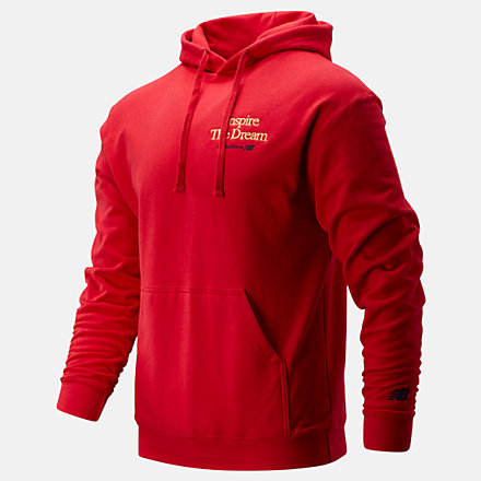 New Balance NB Inspire The Dream Hoodie, MT01601REP image number null