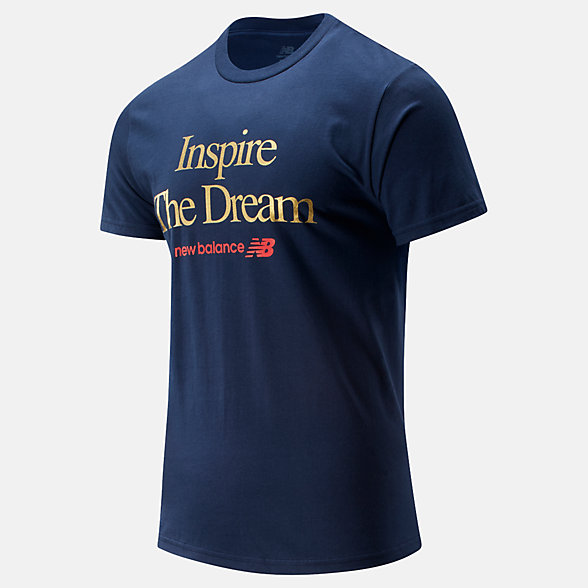 New Balance NB Inspire The Dream Tee, MT01602TNV