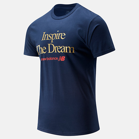 NB NB Inspire The Dream T-Shirt, MT01602TNV